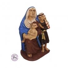 Mujer Hebrea con Niños